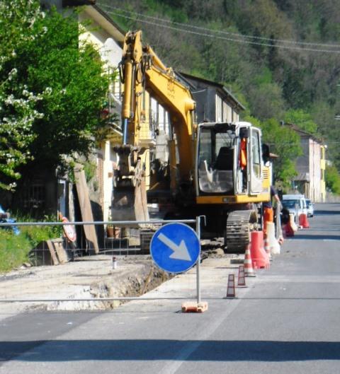 Interruzione di Via Carignoni per lavori di Gaia S.p.A. a partire da lunedì 1 luglio