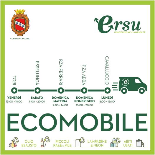 Ecomobile: luoghi, orari e modalità del servizio