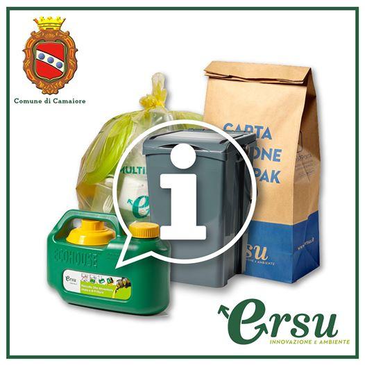 Sostituzione gratuita dei sacchetti per raccolta organico difettosi