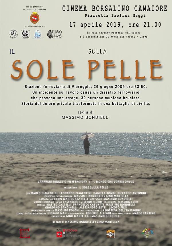 """""""Il sole sulla pelle"""" al Cinema Borsalino il 17 aprile"""