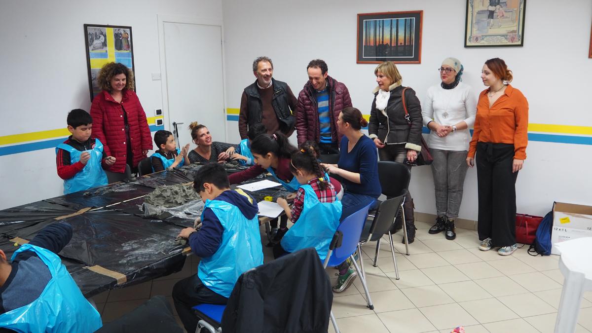 progetto laboratorio artistico per ragazzi e giovani