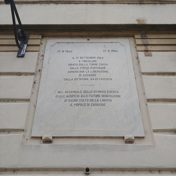 77° anniversario della Liberazione di Camaiore