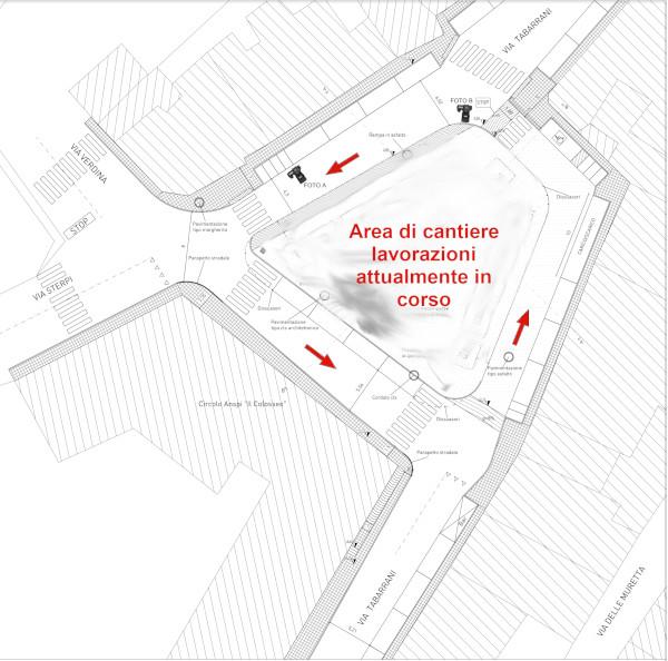 Nuova viabilità in Largo Assunta Marchetti