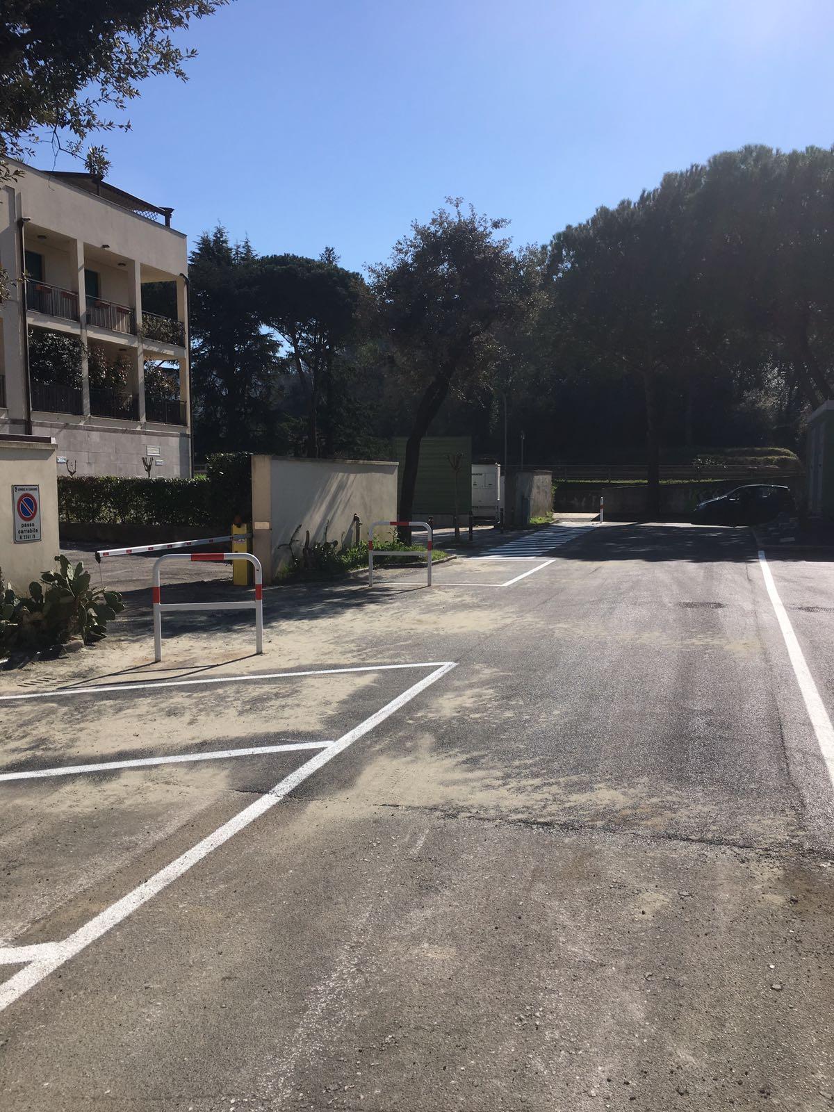 Asfaltatura Piazza Paolina Maggi