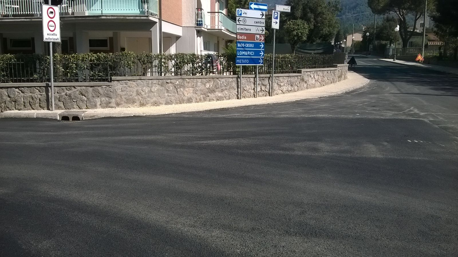 asfaltatura via badia