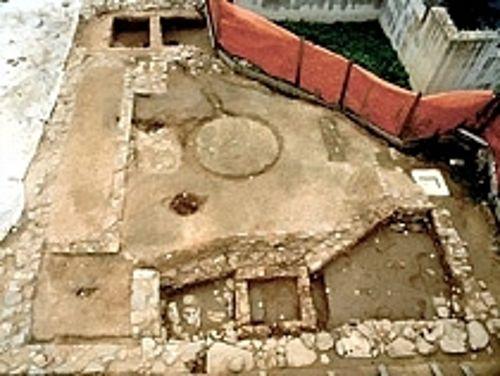 TRATTO 2 fattoria romana acquarella