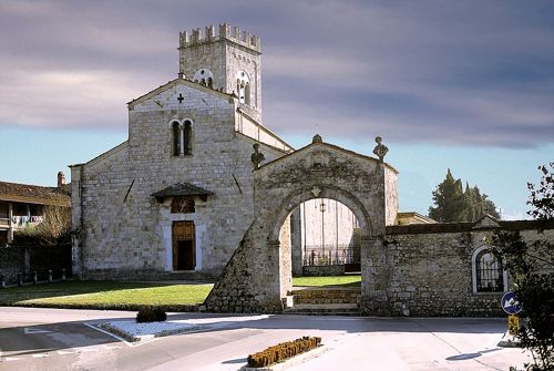 TRATTO 4 chiesa della Badia di Camaiore sec. VIII-XIII