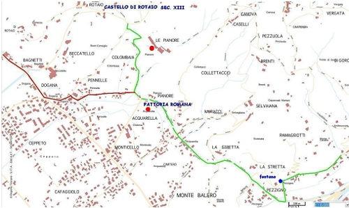 tratto 2 mappa