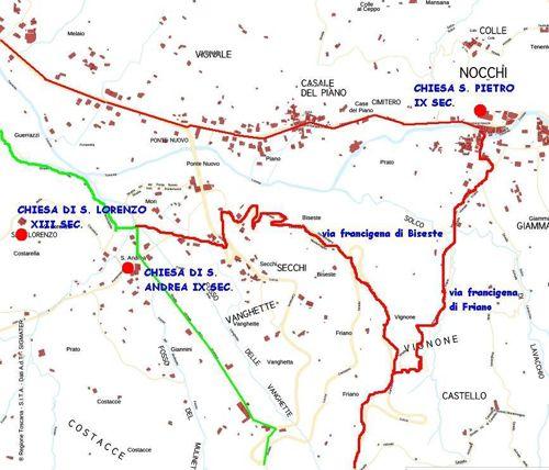 tratto 6 mappa