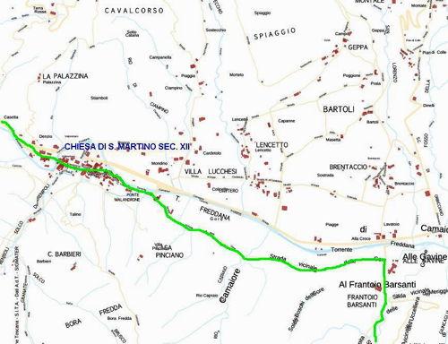 tratto 9 mappa