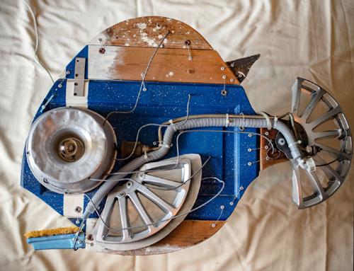Hydropolis mechanical Fishes di Paolo Ceccon alla Galleria Europa dal 21 al 27 agosto