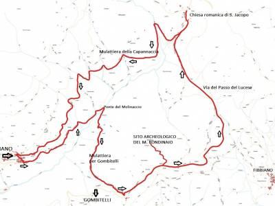 LOOP 13 - TORCIGLIANO - PASSO DEL LUCESE - BUCA DEL CORNO - TORCIGLIANO