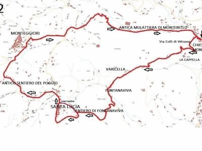 LOOP 2 - MONTEBELLO - S. LUCIA - MONTEGGIORI - MONTEBELLO