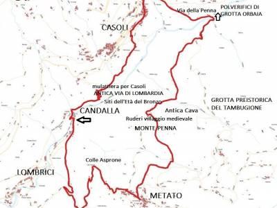 LOOP 7 - CANDALLA - CASOLI - METATO - CANDALLA