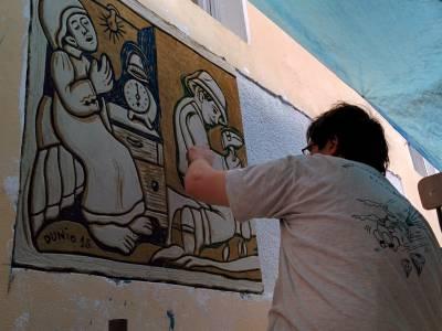 Casoli, il paese degli Sgraffiti