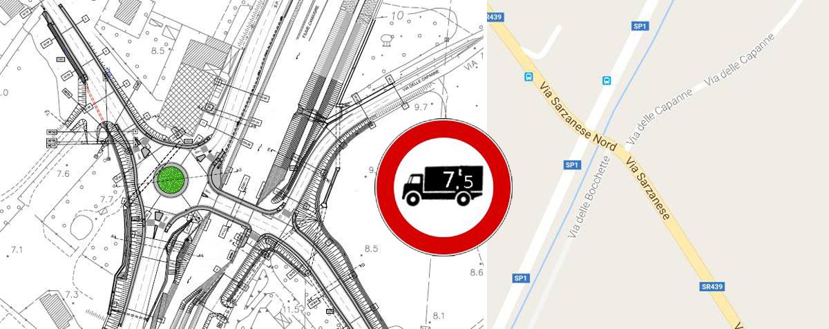 Viabilita' Versilia: sul 'Ponte di Sasso' stop ai mezzi pesanti da mercoledi' 15 febbraio