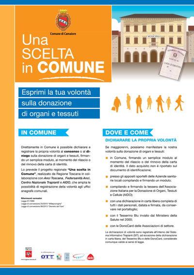 Indice del Dono 2020: Camaiore tra i comuni più generosi per le donazioni di organi