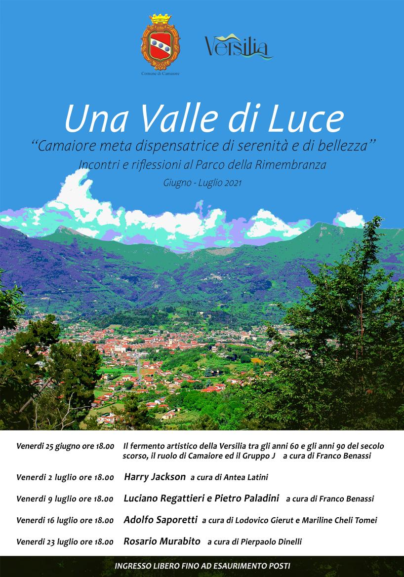 """Al via l'evento """"Una valle di luce - Camaiore meta dispensatrice di serenità e di bellezza"""""""