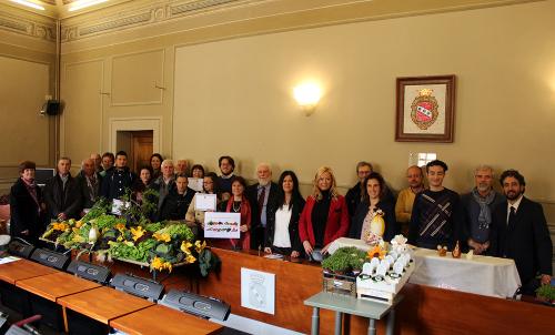 """l progetto """"Agenda per la Qualità del Cibo: Sapori di Camaiore"""" in vetrina all'Accademia dei Georgofili"""