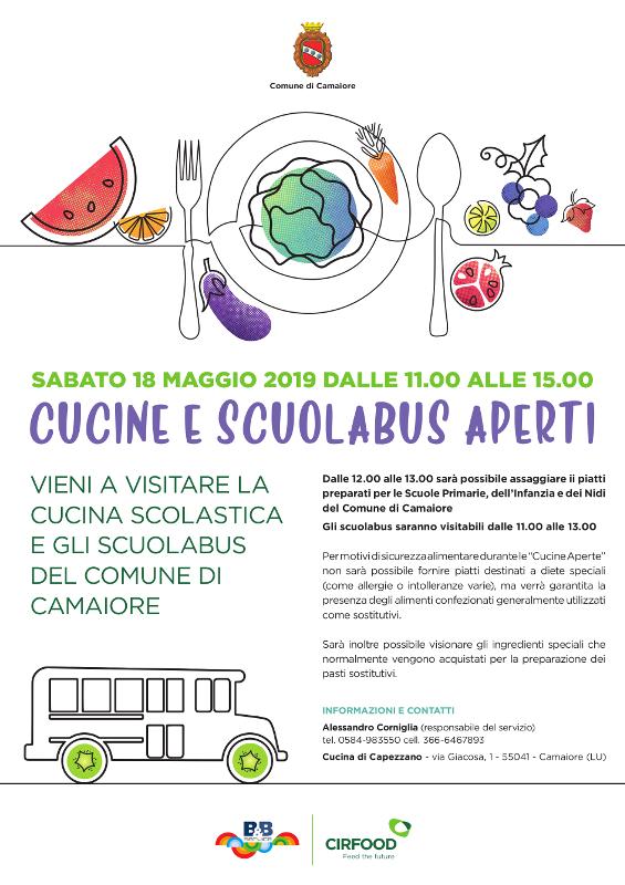 Cucine e scuolabus aperti il 18 maggio a Capezzano Pianore