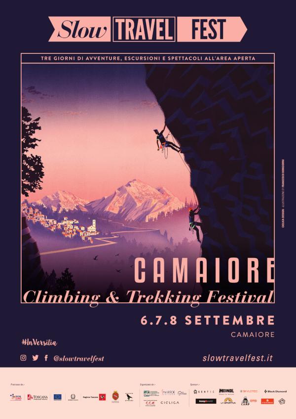 Camaiore  Climbing  &  Trekking Festival 2019 - dal 6 al 8 settembre