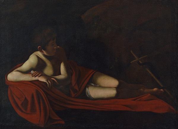 """Il""""San Giovannino giacente"""" di Caravaggio arriva a Camaiore dal 15 ottobre al 31 dicembre"""