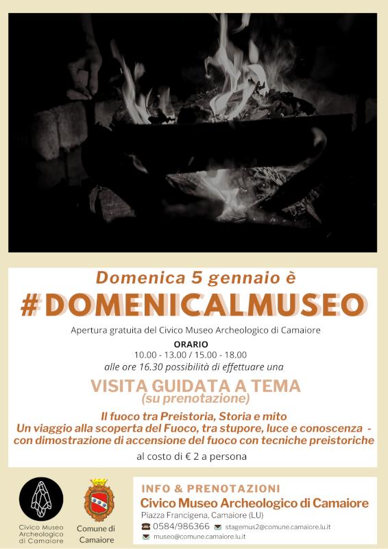 #Domenicalmuseo - il 5 gennaio apertura gratuita del Civico Museo Archeologico