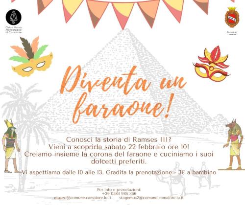 Carnevale al museo - sabato 22 febbraio 2020