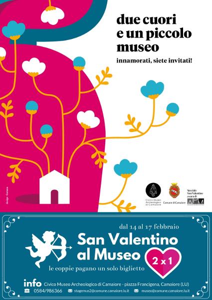 """""""Due cuori e un piccolo museo"""": San Valentino al Civico Museo Archeologico"""