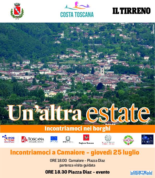 Un'Altra Estate 2019 - il 25 luglio 2° tappa a Camaiore