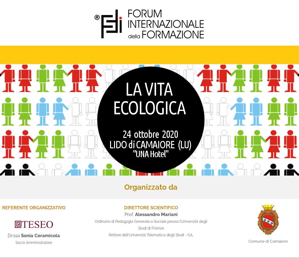 Rinviata l'edizione 2020 del Forum Internazionale della Formazione