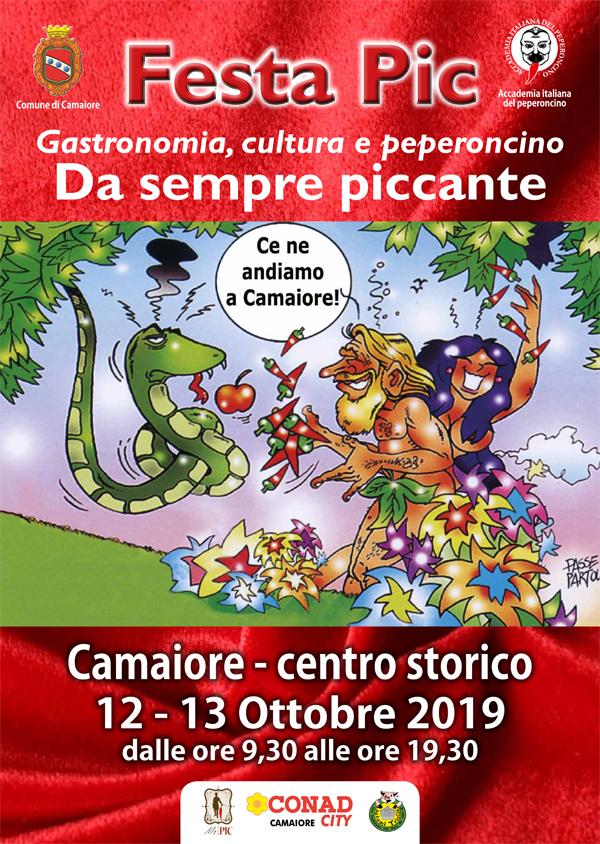 Festa Pic 2019: il 12 e 13 ottobre il peperoncino torna protagonista a Camaiore