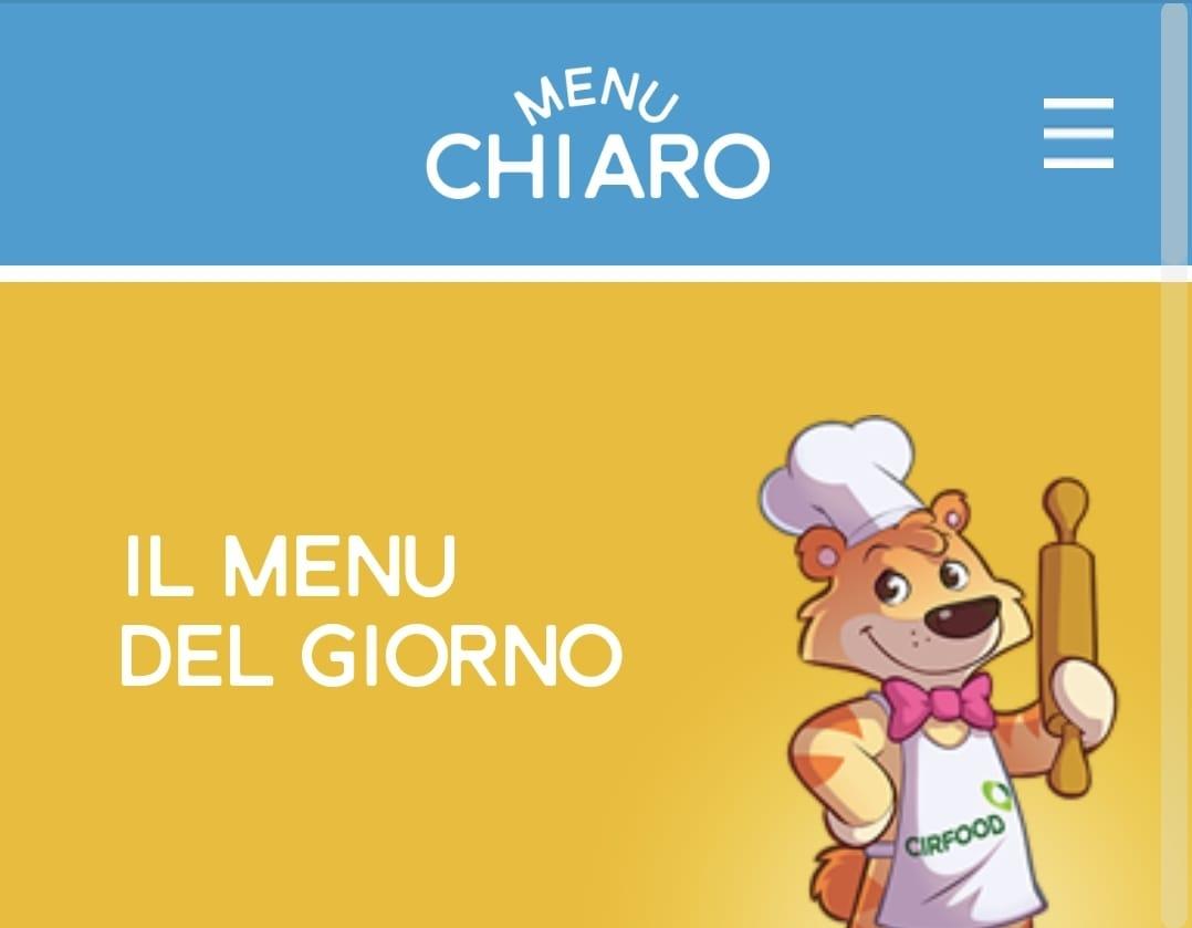 Menu Chiaro - la nuova app dedicata alla refezione scolastica