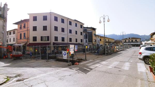 Proseguono i lavori in Piazza XXIX Maggio: da giovedì 25 febbraio modifica alla viabilità nell'area di cantiere