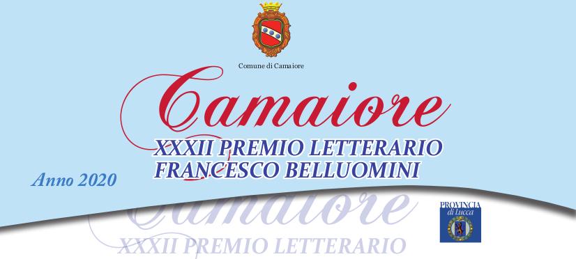 Pubblicato il bando di partecipazione per il XXXII Premio Letterario Camaiore - Francesco Belluomini 2020