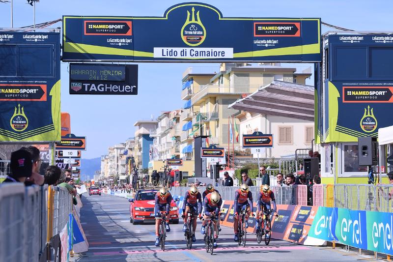 Tirreno-Adriatico 2018 - Il 7 e 8 marzo il via da Camaiore