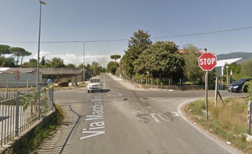 Incrocio via Paduletto – via Macchia Monteggiorini: Giunta ha deciso di procedere in via urgente alla messa in sicurezza