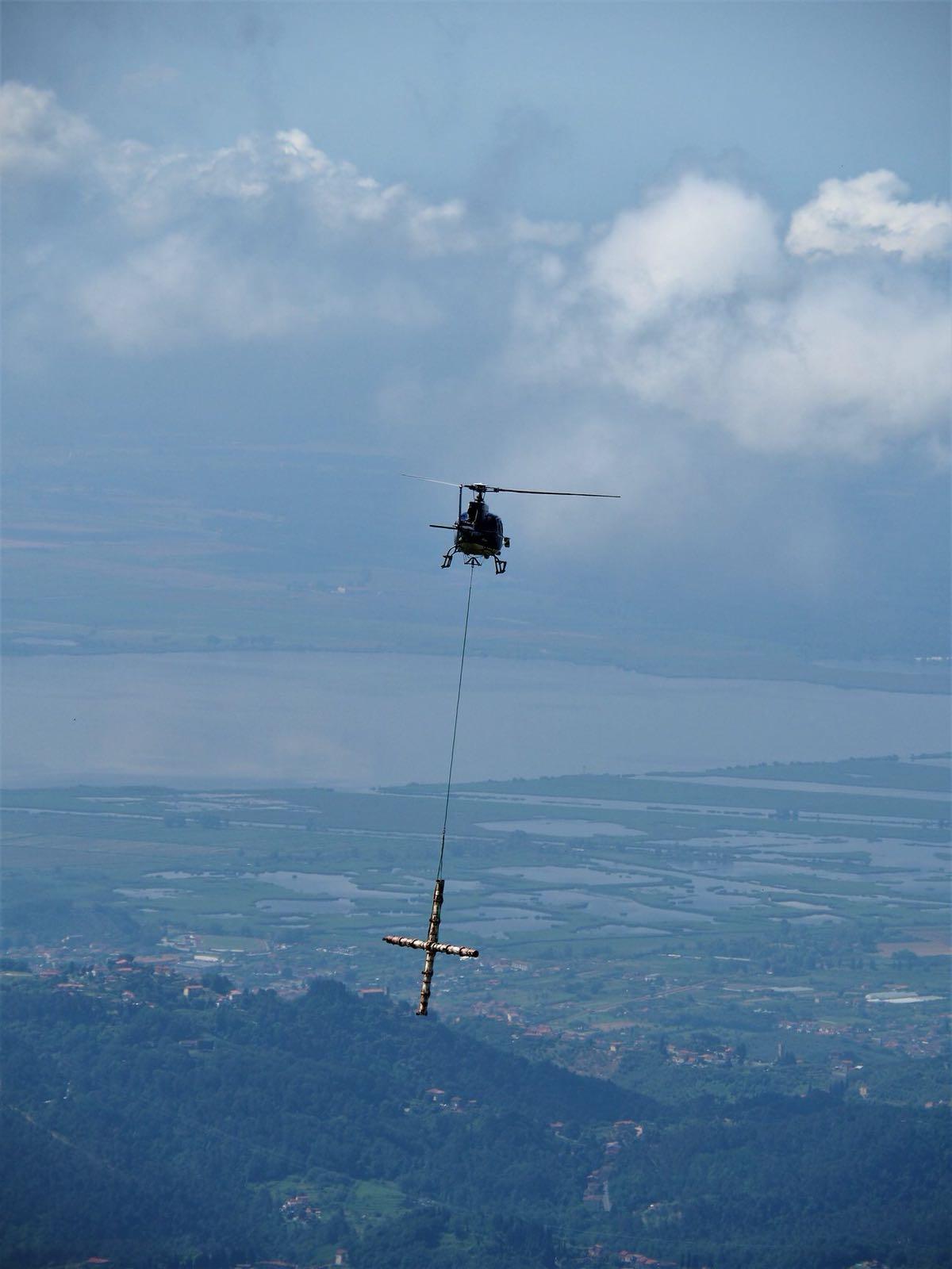 Cinquantesimo anniversario della croce del Monte Prana