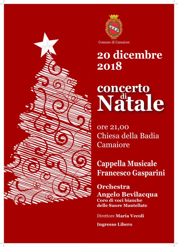 Concerto di Natale della Cappella Musicale Francesco Gasparini - 20 dicembre presso la Chiesa della Badia