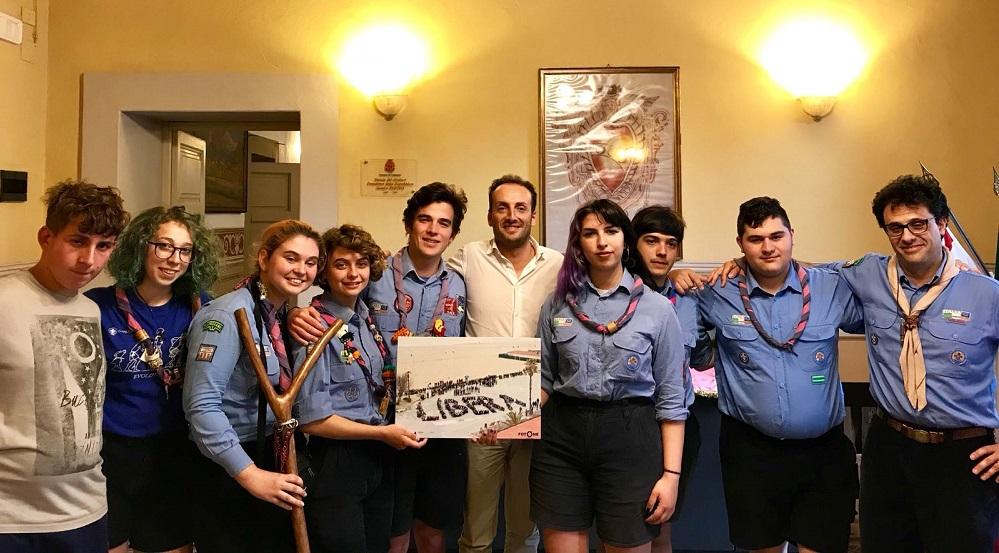 Incontro tra Sindaco e delegazione del Gruppo Scout Capezzano 1