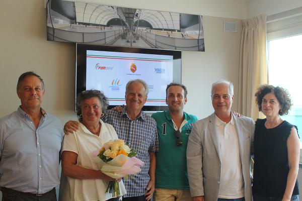 """Firmato il protocollo d'intesa per la costituzione del Centro Federale FISR """"Matteo Ricci"""" presso il  Pardini Sport Center"""