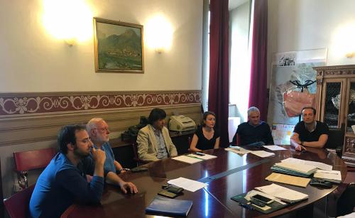 Incontro operativo tra  Comune di Camaiore ed ERSU