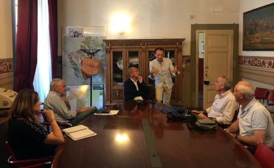 Rotonda sulla SP1 francigena a Marignana: primo incontro per i progetti di realizzazione