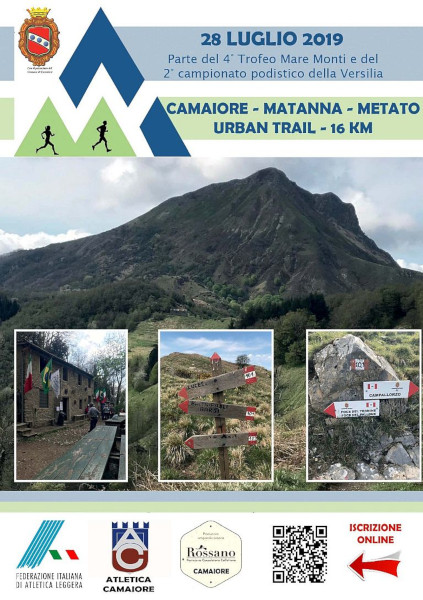 Domenica 18 agosto si corre la Camaiore - Matanna - Metato
