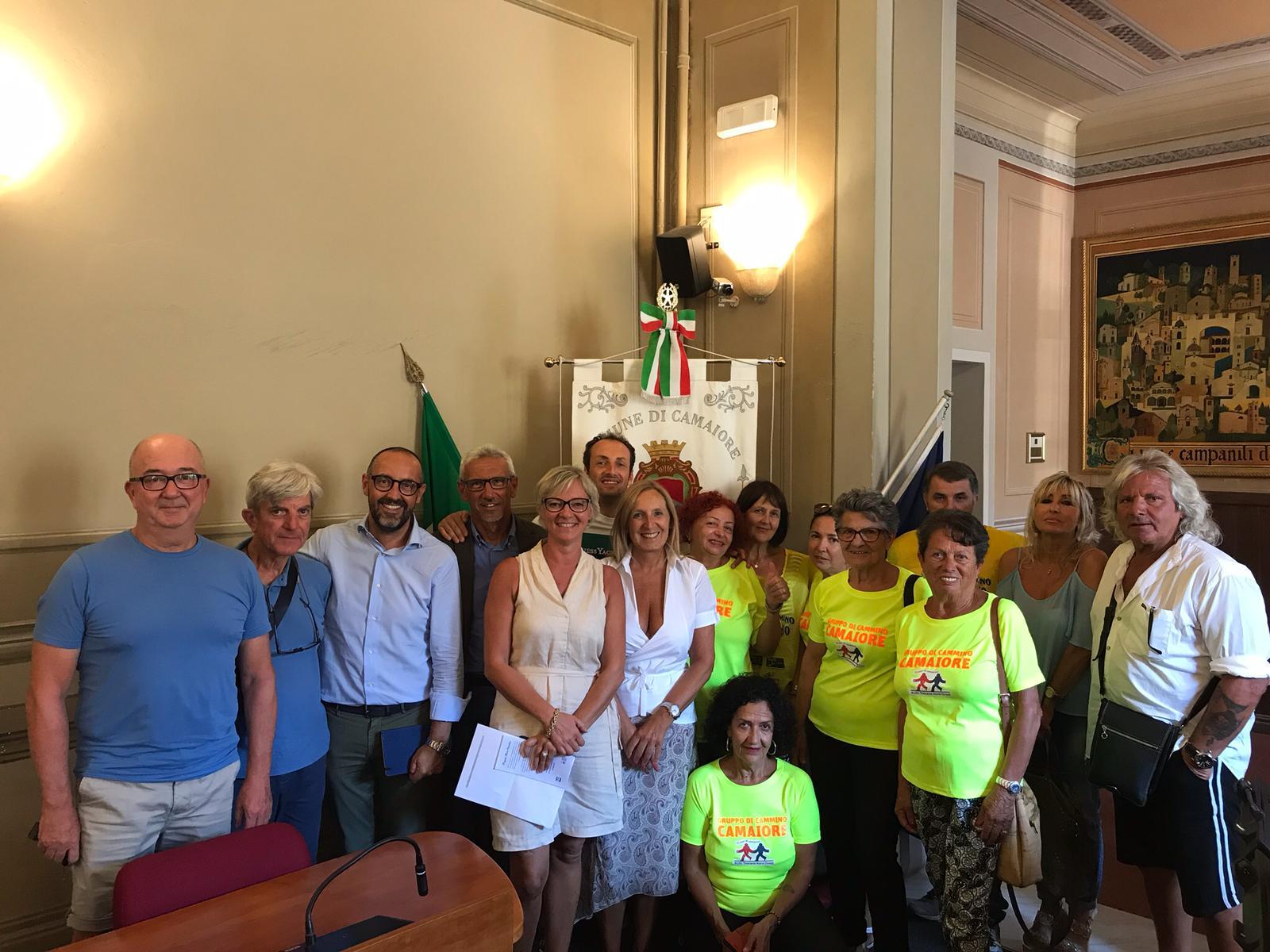 """Comune di Camaiore e AUSL Toscana Nord-Ovest firmano il protocollo d'intesa per il progetto """"Argento vivo"""""""