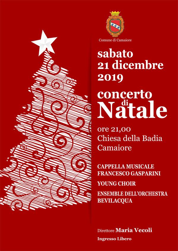 Concerto di Natale della Cappella Gasparini - 21 dicembre 2019