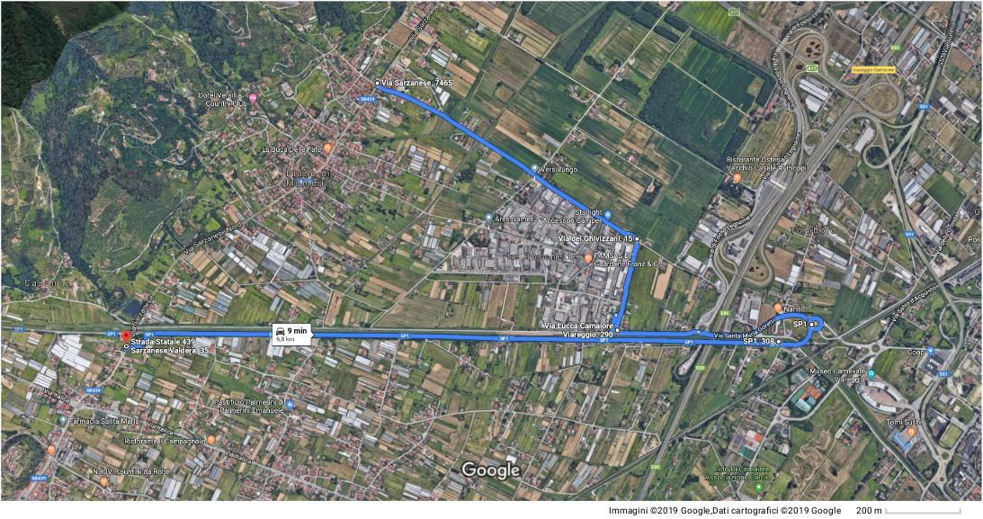 Realizzazione rotatoria presso Ponte di Sasso - senso unico su SR439 Sarzanese il 17 e 18 maggio dalle 9.00 alle 12.00