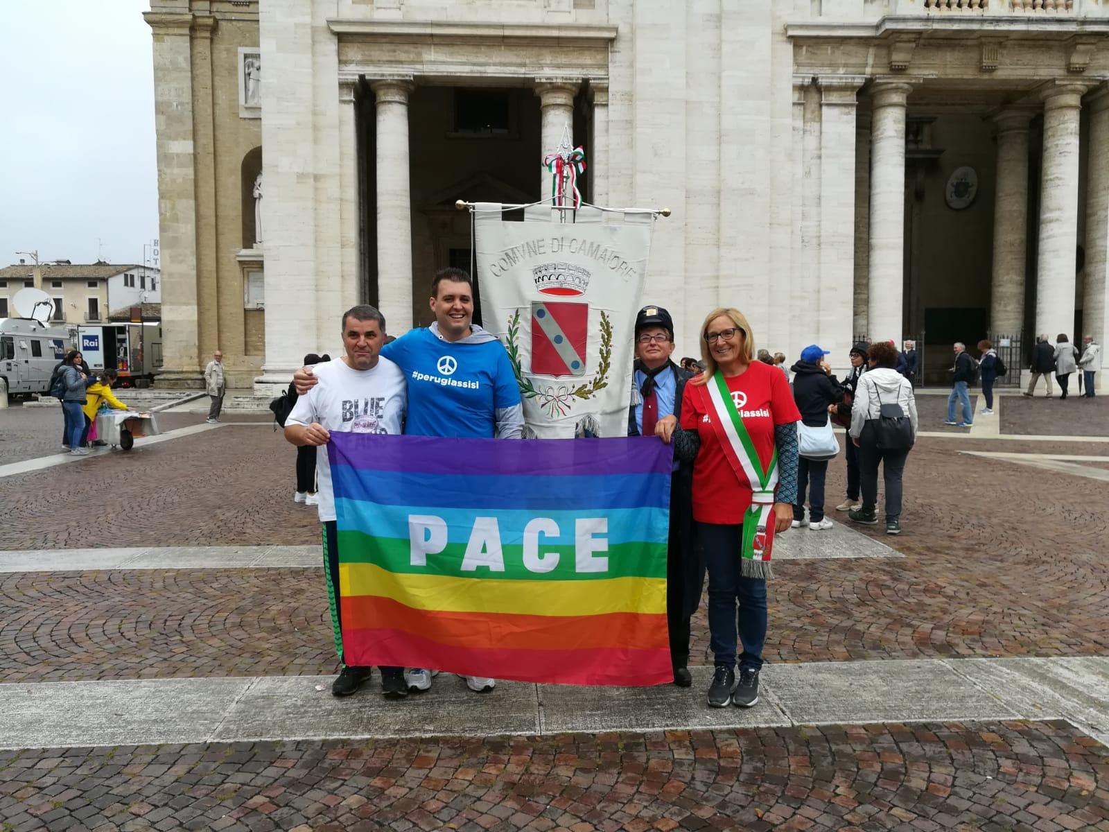 Il Comune di Camaiore alla Marcia della Pace e della fraternità Perugia-Assisi 2018
