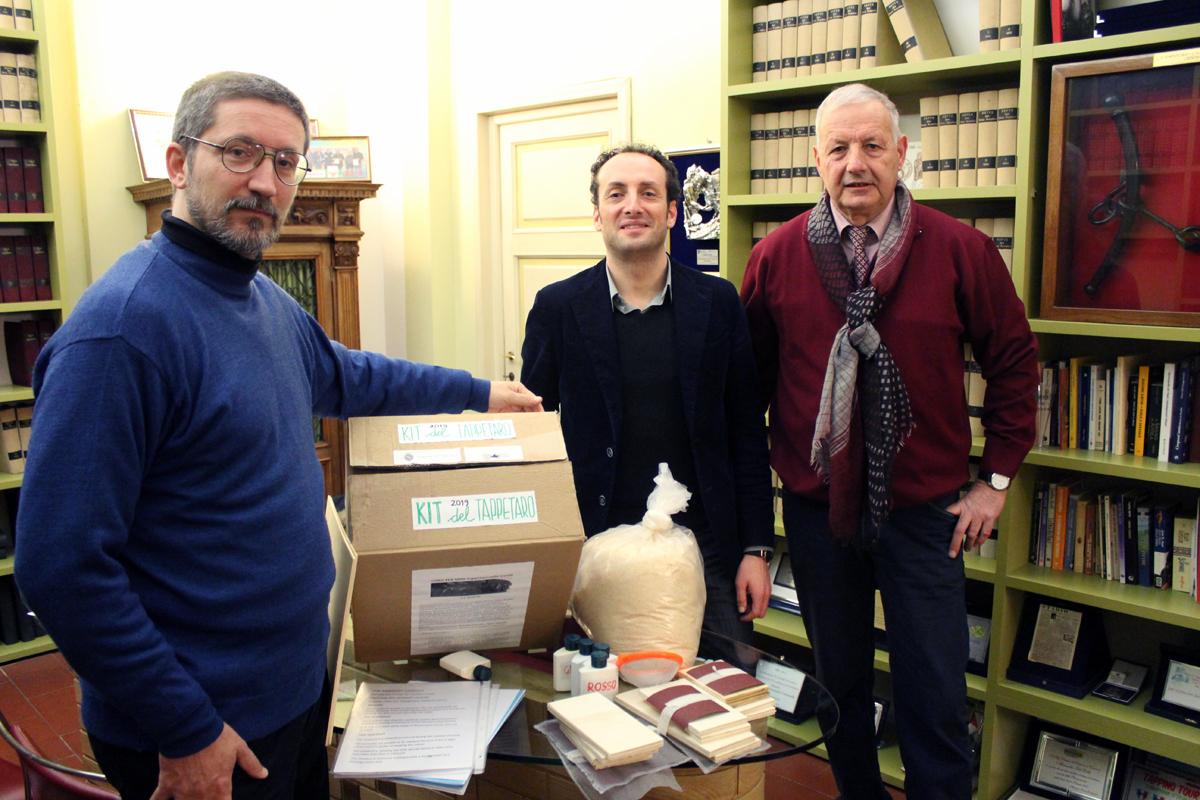 """Presentato il """"kit del tappetaro"""" per le scuole del territorio"""