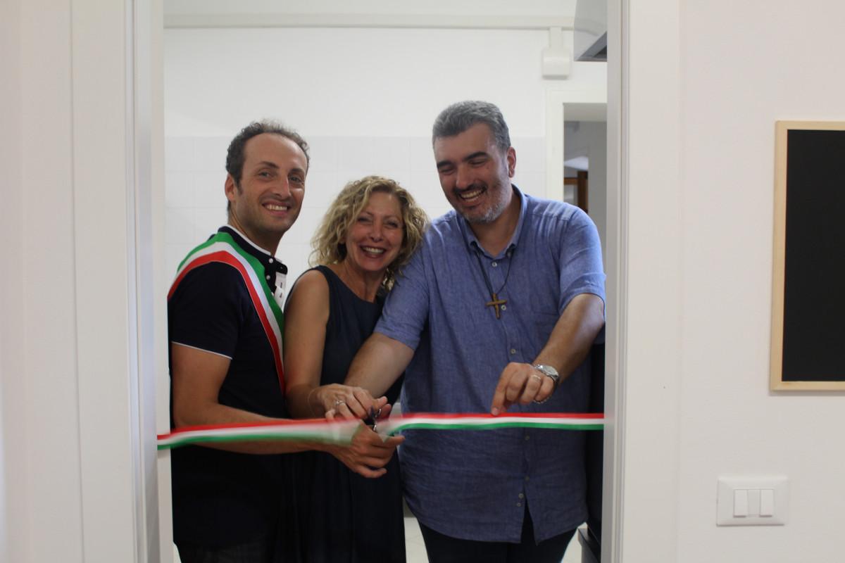 Inaugurata la nuova cucina dell'Istituto San Francesco di Camaiore